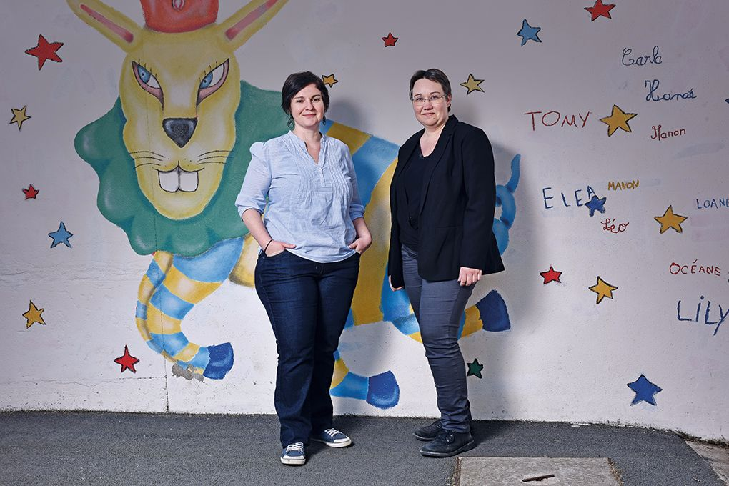 portrait de Mélanie SALMON et Céline BLAIS