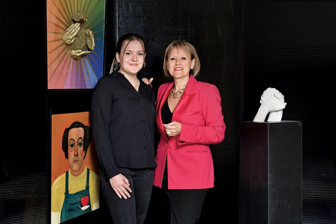 portrait de Fabienne et Océane MALHAIRE-BOULANGER
