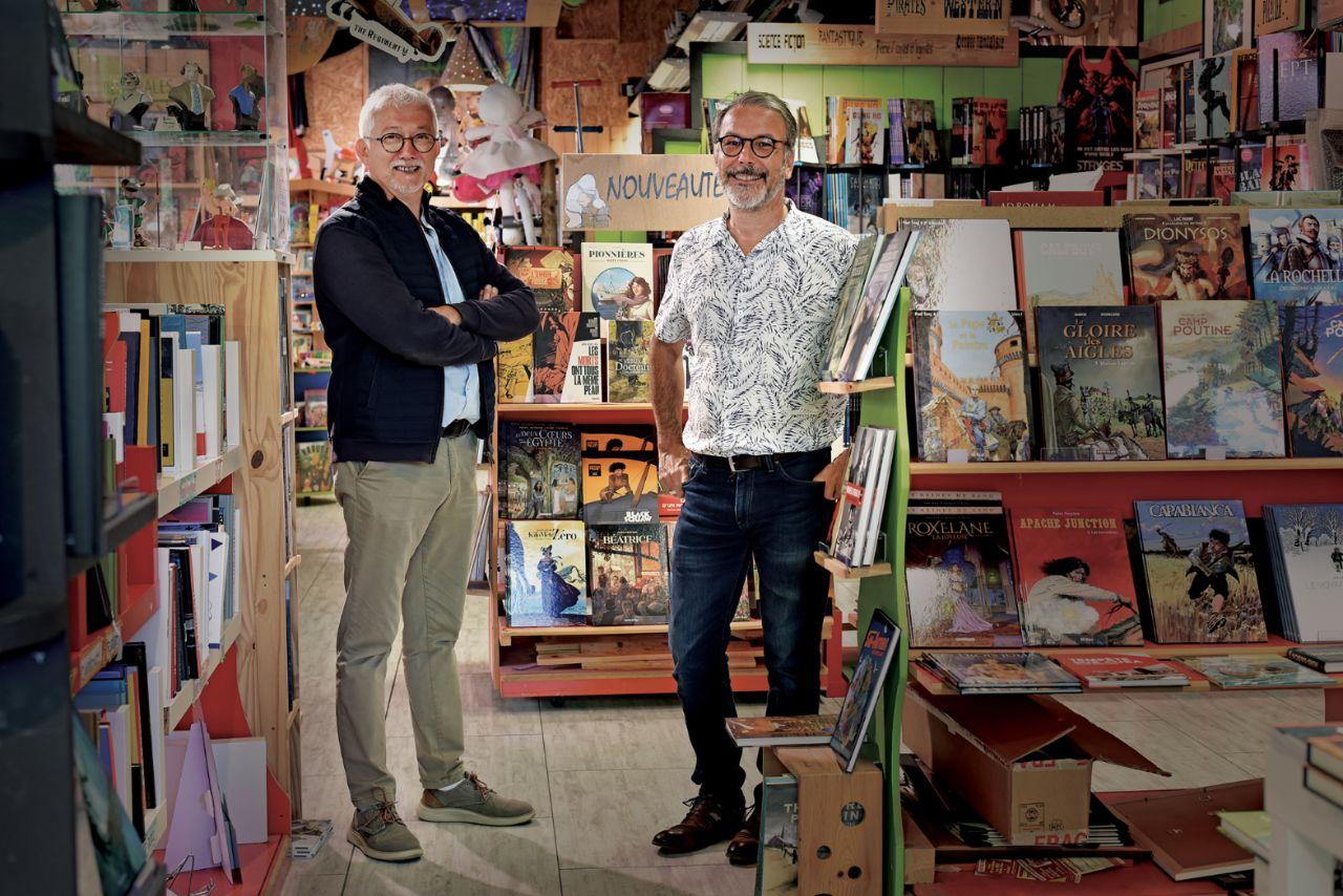 portrait de Alain DAVY et Jean-Claude ARNOULD