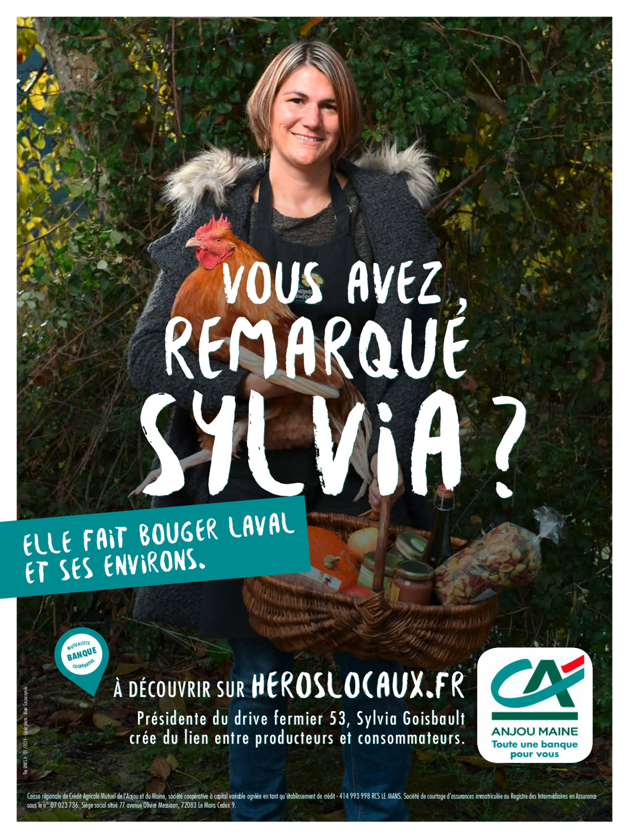 sylvia héros locaux